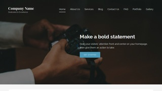 Lyrical Commercial and Industrial Photographer WordPress Theme