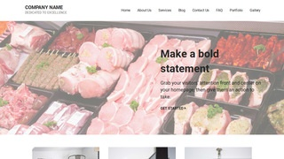 Mins Commercial Refrigeration WordPress Theme