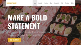 Stout Commercial Refrigeration WordPress Theme