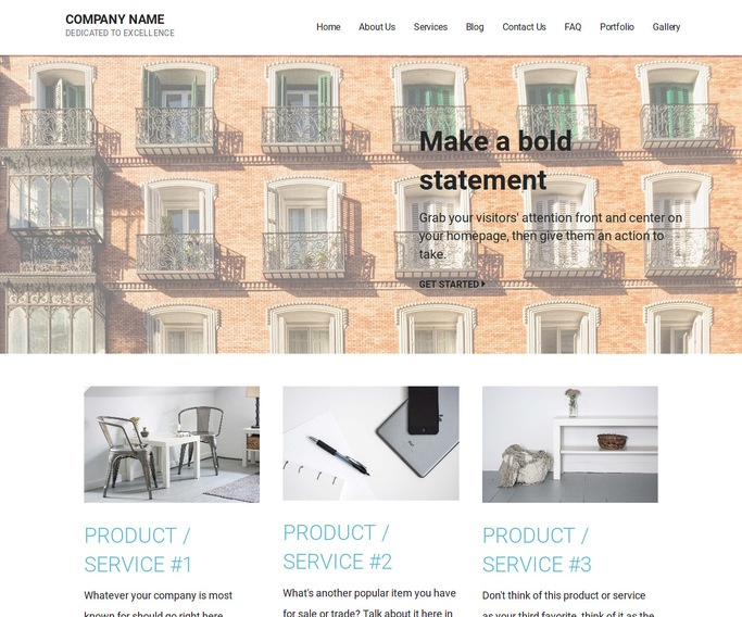 Mins Condominiums and Townhouses WordPress Theme
