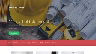 Activation Construction Company WordPress Theme