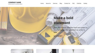 Mins Construction Company WordPress Theme