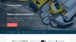Primer Construction Company WordPress Theme