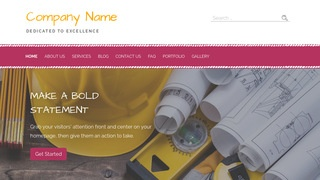 Scribbles Construction Company WordPress Theme