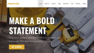 Stout Construction Company WordPress Theme