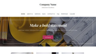 Uptown Style Construction Company WordPress Theme