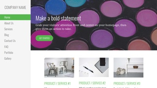 Escapade Cosmetics and Beauty Supply WordPress Theme