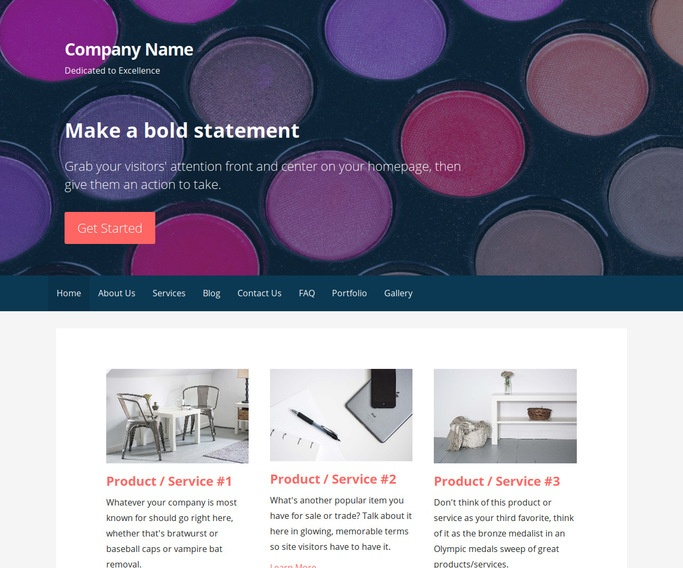 Primer Cosmetics and Beauty Supply WordPress Theme