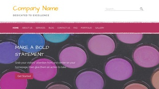 Scribbles Cosmetics and Beauty Supply WordPress Theme