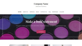 Uptown Style Cosmetics and Beauty Supply WordPress Theme