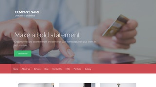 Activation Credit and Debt Counseling WordPress Theme