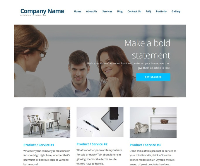 Ascension Credit Reporting Agency WordPress Theme