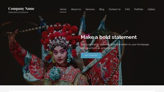 Lyrical Cultural Center WordPress Theme