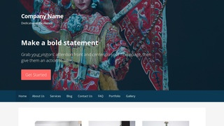 Primer Cultural Center WordPress Theme