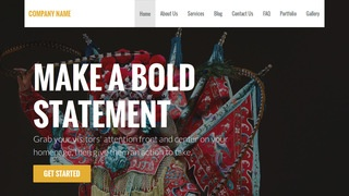 Stout Cultural Center WordPress Theme