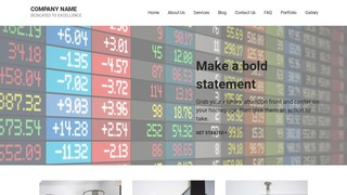 Mins Currency Exchange WordPress Theme