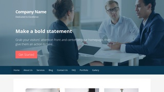 Primer Customs Broker WordPress Theme