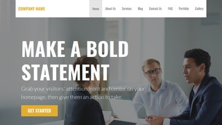 Stout Customs Broker WordPress Theme
