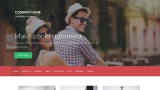 Activation Dating WordPress Theme