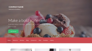 Activation Dessert Shop WordPress Theme