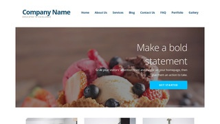 Ascension Dessert Shop WordPress Theme