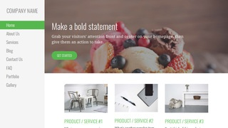 Escapade Dessert Shop WordPress Theme