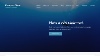 Lyrical Scuba and Free Diving WordPress Theme