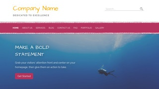 Scribbles Scuba and Free Diving WordPress Theme