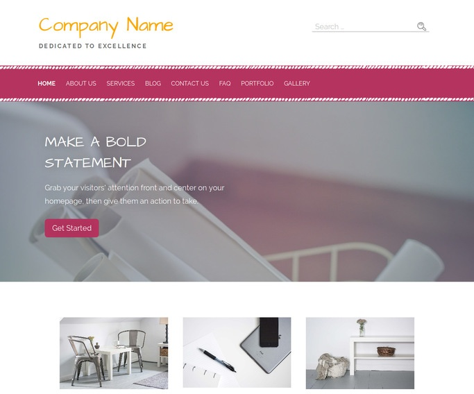 Scribbles Drafting Equipment WordPress Theme