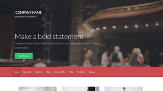 Activation Drama School WordPress Theme