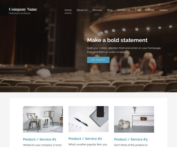 Lyrical Drama School WordPress Theme