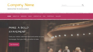 Scribbles Drama School WordPress Theme