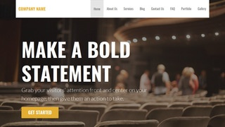Stout Drama School WordPress Theme