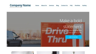 Ascension Drive-Thru WordPress Theme