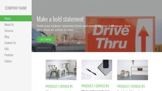 Escapade Drive-Thru WordPress Theme