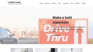Mins Drive-Thru WordPress Theme
