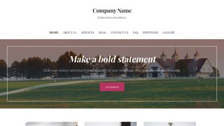 Uptown Style Dude Ranch WordPress Theme