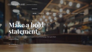 Velux Eclectic Restaurant WordPress Theme