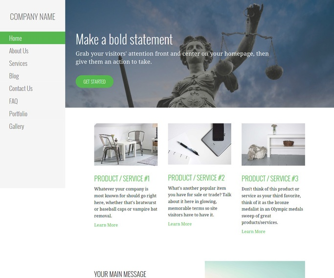 Escapade Elder Law WordPress Theme