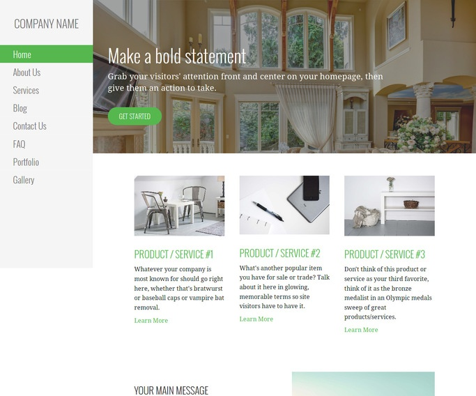 Escapade Estate Sales WordPress Theme