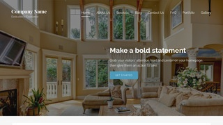 Lyrical Estate Sales WordPress Theme