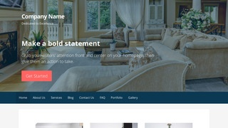 Primer Estate Sales WordPress Theme