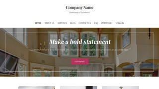 Uptown Style Estate Sales WordPress Theme