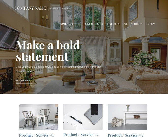 Velux Estate Sales WordPress Theme