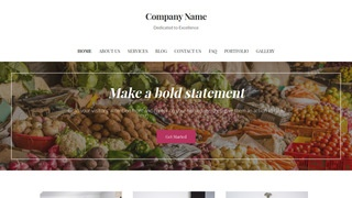Uptown Style Ethnic Food Store WordPress Theme