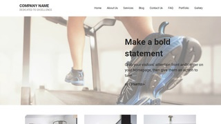Mins Exercise Equipment Store WordPress Theme