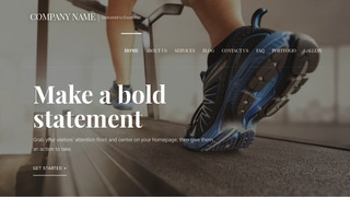 Velux Exercise Equipment Store WordPress Theme