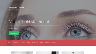 Activation Eyelash Treatment WordPress Theme
