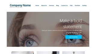 Ascension Eyelash Treatment WordPress Theme