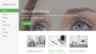 Escapade Eyelash Treatment WordPress Theme
